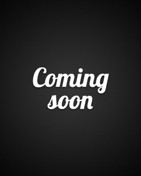 Coming soon, black image with white text