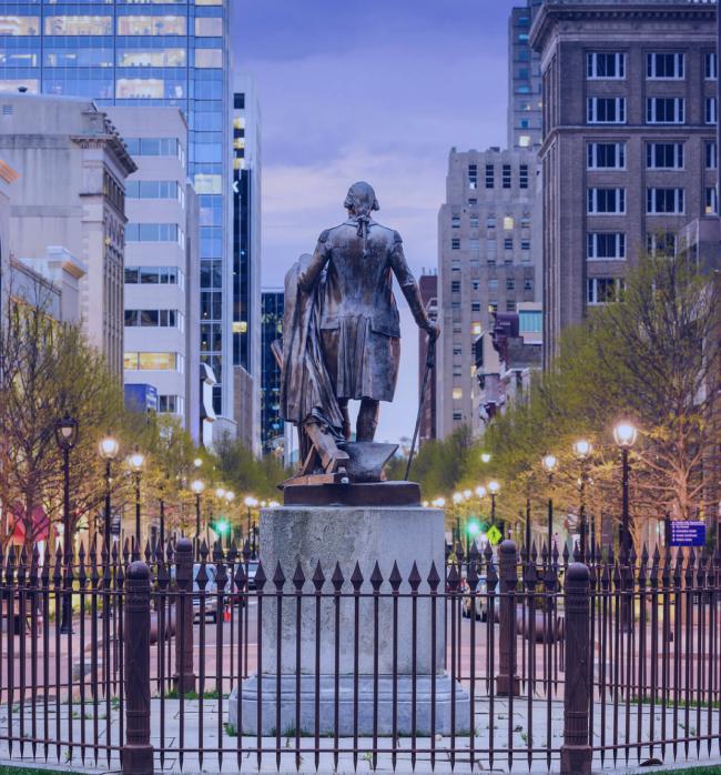 Walter Raleigh Statue